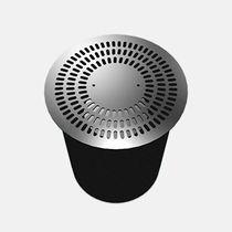 Floor air diffuser / round