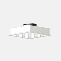 Ceiling air diffuser / square / multi-nozzle