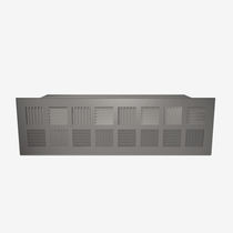 Floor air diffuser / rectangular