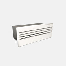 Wall-mounted air diffuser / rectangular