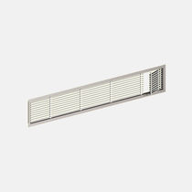 Aluminum ventilation grille / rectangular / casement