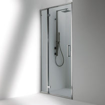 Swing shower screen / corner - D1A DUNA - Bianchi & Fontana