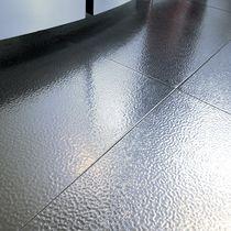 Indoor tile / floor / steel / plain
