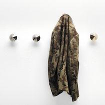 Contemporary coat hook / nickel