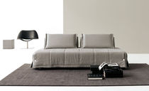 Bed sofa / contemporary / polyester / 2-seater