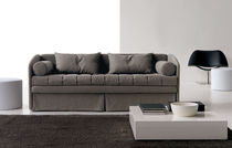 Bed sofa / contemporary / fabric / 2-seater