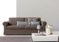 Bed sofa / traditional / cotton / 4-seater