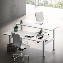 Work table / contemporary / MDF / rectangular