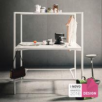 Work table / contemporary / laminate / square