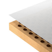 Interior fitting acoustic panel / MDF / for offices / for public buildings