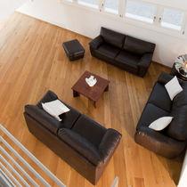 Engineered parquet flooring / glued / floating / antique oak