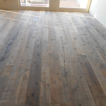 Engineered parquet flooring / floating / patina