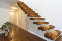 Straight staircase / quarter-turn / spiral / half-turn