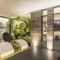 Wooden wallcovering / residential / for offices