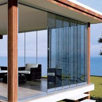 Telescopic patio door / aluminum