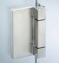 Glass door hinge / metal