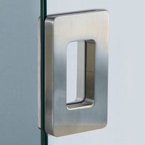 Sliding door pull handle / metal / contemporary