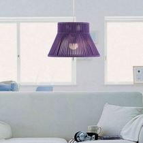 Pendant lamp / contemporary / metal / rope