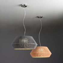 Pendant lamp / contemporary / rope / handmade