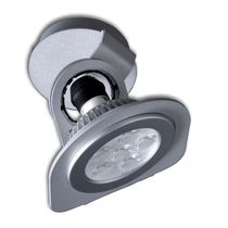 Ceiling-mounted spotlight / indoor / LED / round