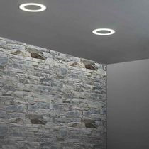 Recessed downlight / surface mounted / LED / round