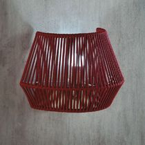 Contemporary wall light / rope / LED / curved