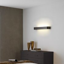 Contemporary wall light / glass / wooden / LED