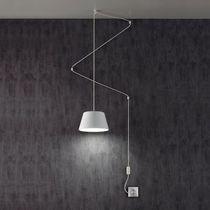 Pendant lamp / original design / metal / acrylic glass