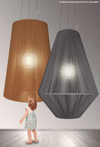 Pendant lamp / contemporary / rope / commercial