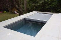 In-ground swimming pool / concrete / for hotels / with cover