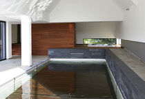 In-ground swimming pool / concrete / for hotels / with movable floor