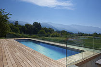 In-ground swimming pool / stainless steel / outdoor