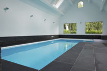 In-ground swimming pool / concrete / for hotels / indoor