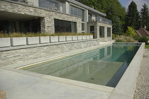 In-ground swimming pool / concrete / for hotels / lap