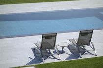 In-ground swimming pool / concrete / for wellness centers / with perimeter overflow