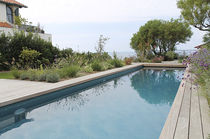 In-ground swimming pool / concrete / for hotels / mosaic