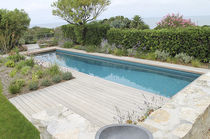 In-ground swimming pool / ceramic / mosaic / outdoor