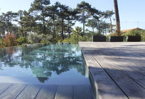 In-ground swimming pool / concrete / overflow / outdoor