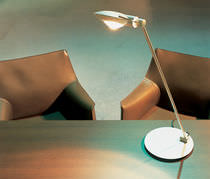 Table lamp / original design / metal / halogen