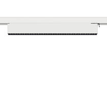 LED track light / linear / aluminum / commercial