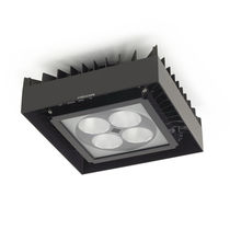 Surface mounted downlight / outdoor / LED / round