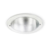 Recessed downlight / HID / compact fluorescent / round