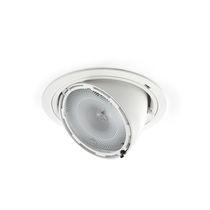 Recessed ceiling spotlight / indoor / halogen / round