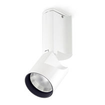 Ceiling-mounted spotlight / indoor / LED / halogen