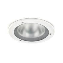 Recessed downlight / for outdoor use / LED / compact fluorescent
