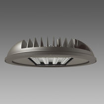 Hanging light fixture / LED / round / cast aluminum