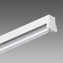Surface-mounted light fixture / LED / linear / galvanized steel