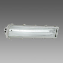 Surface-mounted light fixture / fluorescent / HID / rectangular