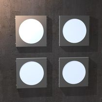 Industrial style wall light / stainless steel / acrylic glass / LED