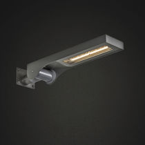 Contemporary wall light / outdoor / aluminum / stainless steel
